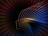 魂の幾何学の隠喩 — ストック写真