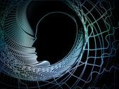 Composición de geometría de alma — Foto de Stock