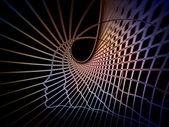 Aparición de la geometría del alma — Foto de Stock