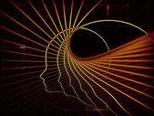 Perspectivas de la geometría del alma — Foto de Stock
