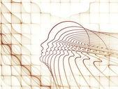魂のジオメトリの相乗効果 — ストック写真