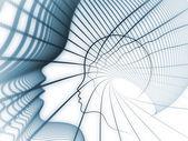 魂の幾何学のゲーム — ストック写真