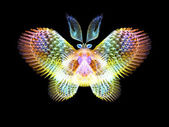 Vlinder elementen — Stockfoto