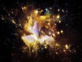 Nebula Texture — Stock Photo