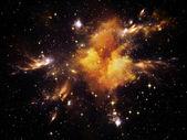 Nebula patlaması — Stok fotoğraf