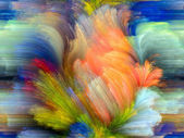 Acceleration of Color — Stockfoto