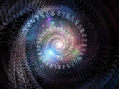 Acceleration of Spiral — Stock Photo