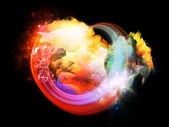 Design Nebulae Abstraction — Stock Photo