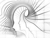 Evolving Soul Geometry — Stock Photo
