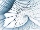 Soul Geometry Backdrop — Stock Photo