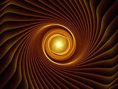 能量的分形爆裂 — 图库照片