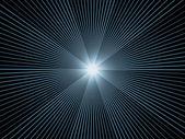 Virtuele fractal burst — Stockfoto