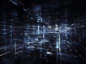 未来のライト — ストック写真