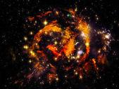 Brillo de la nebulosa — Foto de Stock