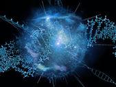 Virtual DNA — Stock fotografie