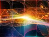 光の波 — ストック写真
