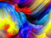 Voorschot van kleur — Stockfoto