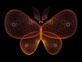 Virtual Butterfly — Stock Photo