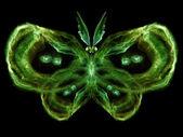 Conceptuele vlinder — Stockfoto