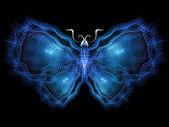 Cool vlinder — Stockfoto