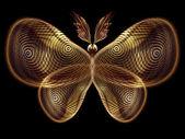 Illusion of Butterfly — Stockfoto