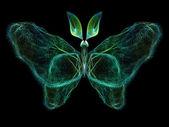 Butterfly abstraktion — Stockfoto