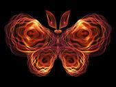 Butterfly Visualization — Stockfoto
