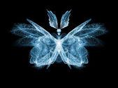 Butterfly ontwerp — Stockfoto