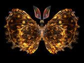 Fraktal fjäril — Stockfoto