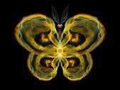 Virtuele vlinder — Stockfoto