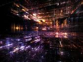Geleceğin şehri — Stok fotoğraf