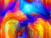 Kleurrijke energie — Stockfoto
