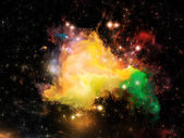 Virtual Orion nebula — Stock Photo