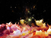 Beautiful Nebula — Стоковое фото