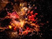 Colorful Nebula — Stock Photo