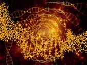Realms of DNA — Stockfoto