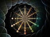 симметрия циферблат — Стоковое фото