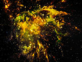 宇宙星云 — 图库照片