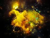 Космическая туманность — Стоковое фото