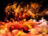星云设计 — 图库照片