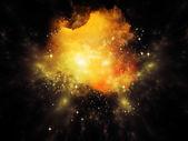 Nebula doku — Stok fotoğraf
