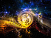 Vortex in Space — Stock Photo