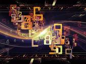 Avancée des royaumes de fractal — Photo