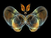 Fractal Butterfly — Stock Photo