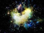 Synergieën van ruimte — Stockfoto