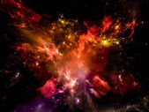 Space Abstraction — Stock Photo