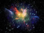 Space Background — Stock Photo