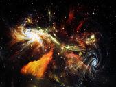 星光星云 — 图库照片