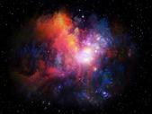 太空星云 — 图库照片