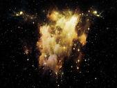 宇宙の星雲 — ストック写真